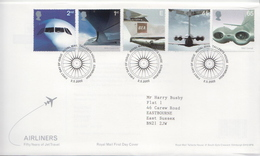 Great Britain Set And SS On 2 FDCs - Other