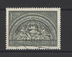 AUTRICHE.  YT   N° 816  Obl   1952 - 1945-.... 2ème République