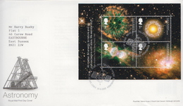 Great Britain SS On FDC - Astronomy