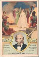 Chromo  CHOCOLAT POULAIN  /  Les  Romanciers  Célèbres  /  FLAUBERT  Gustave  /  Oeuvre :  Salammbo - Poulain