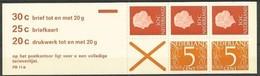 Pays-Bas Nederland 1971  Yvertn° Carnet C611c Pb 11b *** MNH Cote 30,00 Euro - Booklets