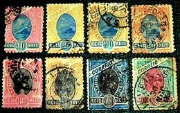 Brazil,1894, RIO De Janeiro Allegoria, Michel # 104,105 ( A,A,B),108 (III ),109,111,113. - Brasil