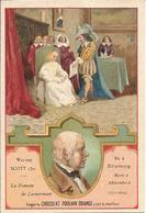 Chromo  CHOCOLAT POULAIN  /  Les  Romanciers  Célèbres  /  Sir  SCOTT  Walter  /  Roman :  La Fiancée De Lamermoor - Poulain