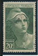 FRANCE: Obl., N° YT 730, TB - 1945-54 Marianne Of Gandon