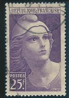 FRANCE: Obl., N° YT 731, TB - 1945-54 Marianne Of Gandon