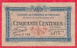 50 Centimes Chambre De Commerce De Grenoble  Dans L 'état (110) - Chambre De Commerce