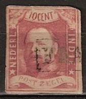 Ned Indie 1864 Koning Willem III. NVPH 1 - Nederlands-Indië