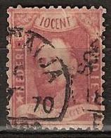 Ned Indie 1868 Koning Willem III. Stempel SOERABAIJA Op NVPH 2 See Description - Nederlands-Indië