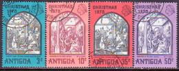 ANTIGUA 1970 SG #286-89 Compl.set Used Christmas - Antigua & Barbuda (...-1981)