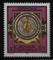 AUTRICHE  N° 1622 * *   Astrobale Astronome Mathematicien Johannes Von Gmunden - Astronomie