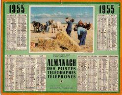 Almanach Des Postes 1955 Boire Un Petit Coup C Est Agréable - Grand Format : 1941-60