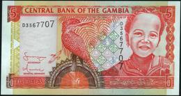 GAMBIA - 5 Dalasis Nd.(2001 - 2005) UNC P.20 C - Gambia