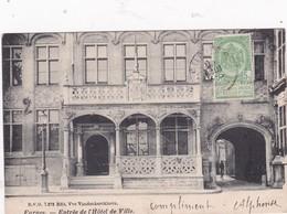 ENTREE HOTEL DE VILLE1900 (avec Timbre Taxe) - Villers-la-Ville