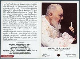 °°° Santino - S. Pio Da Pietralcina Cappuccino °°° - Religione & Esoterismo