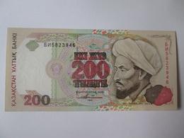 Kazakhstan 200 Tenge 1993 Banknote UNC - Kazakhstan