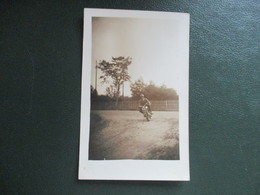 CPA PHOTO MOTO ANCIENNE - Motorräder