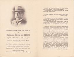 Souvenez Vous De Pierre De Berny + 6 Juin 1928 - Obituary Notices