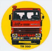 Autocollant Berliet TR 350 - Adesivi