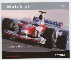 Autocollant Toyota F1 - Autocollants