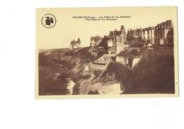 Cpa - 35 - DINARD - LES VILLAS DE LA MALOUINE - Dessin Homme Golfeur Golf - Breton House Edit - Dinard