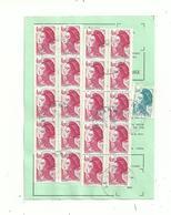 2 Lr Et 1 Ordre De Réexpédition..  Avec  LIBERTE  Affranchissement EN NOMBRE  ....à Voir - 1982-90 Liberty Of Gandon