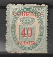 MACAO - N° 31  Nsg (1887)  Timbre Fiscaux Avec CORREIO - Nuevos