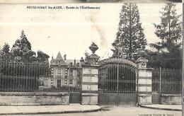 54 Maréville - Laxou  Pensionnat Ste Anne  Entrée De  L' Etablissement - Santé