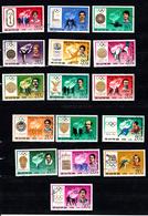 Korea Noord 1978 ) Mr 1760 - 1775 , 15 St. Olympische Spelen Geschiedenis - Korea (Noord)