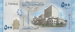 SYRIE 500 POUNDS 2013 UNC P 115 - Syrie