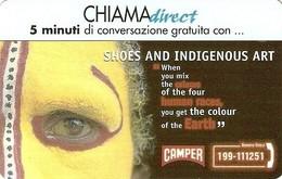 *CHIAMADIRECT - N.33 - CAMPER* - Scheda NUOVA (MINT) (FT) - Unclassified
