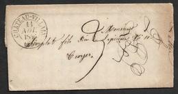 1846 - LAC - CHATEAU VILLAIN  - C.à.d Type 13 - 1801-1848: Précurseurs XIX