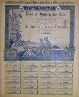 ACTION -  Société Du MAREORAMA HUGO D'ALESI - Panorama Mobile Du 25 Mars 1899 - RARE - Cinéma & Théatre