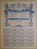 ACTION - MINAS De MICA De VAL INFERNIO En ESPAGNE - CORDOBA - Du 25 Mars 1911 - Mines