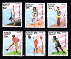 Togo 1996 Mi Nr  2382 - 2387,  Olympische Zomerspelen, Atlanta - Togo (1960-...)