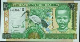 GAMBIA - 10 Dalasis Nd.(2001 - 2005) UNC P.21 C - Gambia