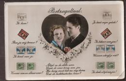 Postzegeltaal - Stamp Language - Koppels