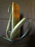 FER à CHEVAL En Bronze Horse Shoe Horseshoe Pferde Hufeisen Déco Décoration Equitation = Patère, Porte Manteau, Etc....? - Ironwork