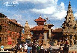 Népal : Bhaktapur Durbar Square - Népal