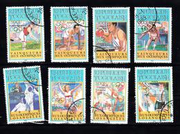 Togo 1984 Mi Nr 1776 - 1783,  Olympische Zomerspelen, Geschiedenis - Togo (1960-...)