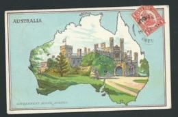 Australia ( Map ) Government House , Sydney  Gak92 - Sydney
