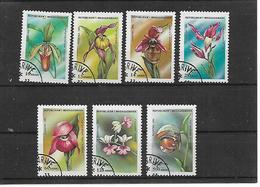 MADAGASCAR    1993    FIORI      YVERT . 1323A-1323G    USATA     XF - Madagascar (1960-...)