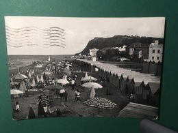 Cartolina Pesaro - Spiaggia - 1957 - Pesaro