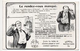GENÈVE Geneva Fabrique Manufacture Genevoise De Boites De Montres Watch Case Co. Téléphone Telefon Apparat Uhren Fabrik - GE Genève
