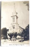 Eglise De St. Cloud D'Algérie . Carte Photo. - Oran
