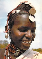 Afrique- (Burkina Faso) HAUTE VOLTA NABADOGO  Parure Sourire ( Photo DIAVOLTA 78/578)  TIMBRE STAMP  *PRIX FIXE - Burkina Faso