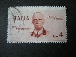 SVENDITA 1934 - , VOLO Roma Mogadiscio , L. 4 Bruno Rosso. TTB,  OCCASIONE - 1900-44 Vittorio Emanuele III