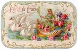 PRINT From J. STERN BERLIN -  EXTRAIT  De  FLEURS  SWANS - Cc 1910/15 - Labels