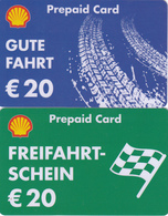 2 Gift Cards  - - -  Germany  - - -  Shell - Gift Cards