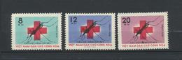 Viêt-Nam  Vietnam 1962  Malaria Red Cross Set MNH XX  Mi 220/2 - Viêt-Nam