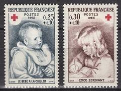 FRANCE 1965 -  SERIE Y.T. N° 1466 / 1467 - 2 TP NEUFS** - France